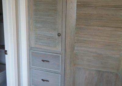 Closet made from Driftwood oak