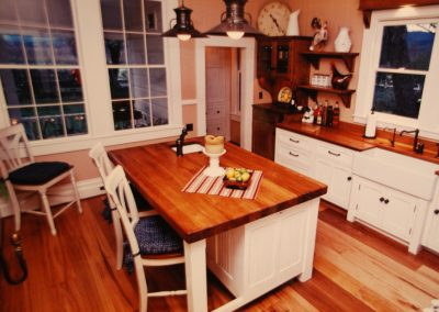kitchen island and drawers