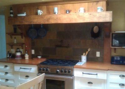 Kitchen stove hood