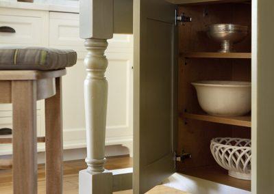 Kitchen table closet