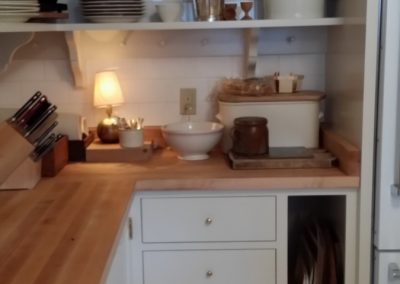 kitchen with simple english design