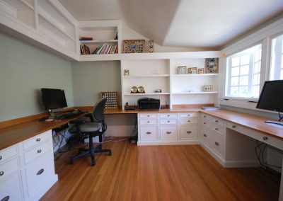 Office shelves and drawers