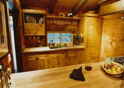 Simple Wooden Kitchen