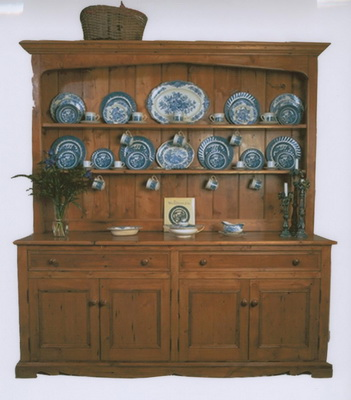 Wooden Kitchen Hutch