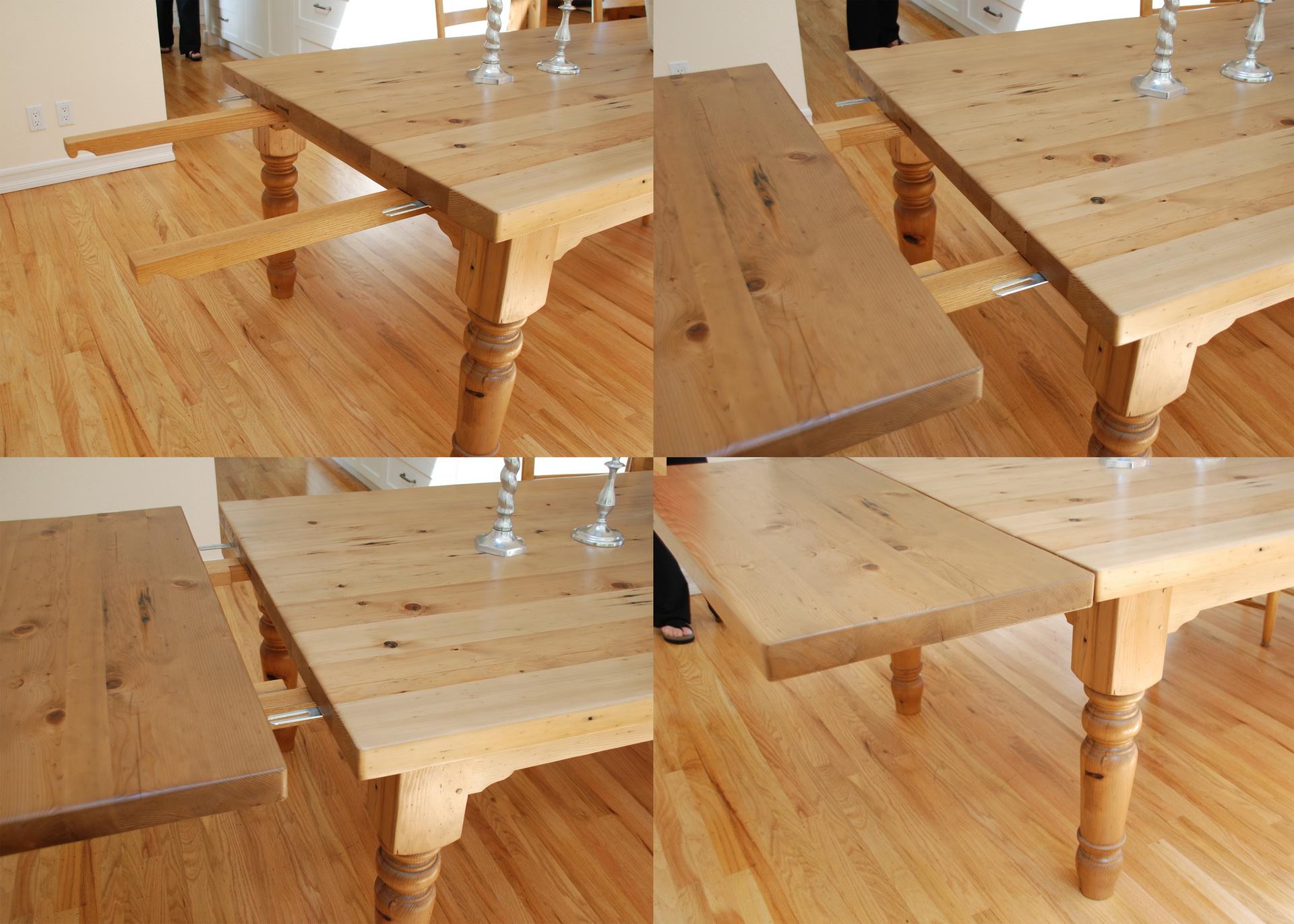 Table dining table leaf quad 001
