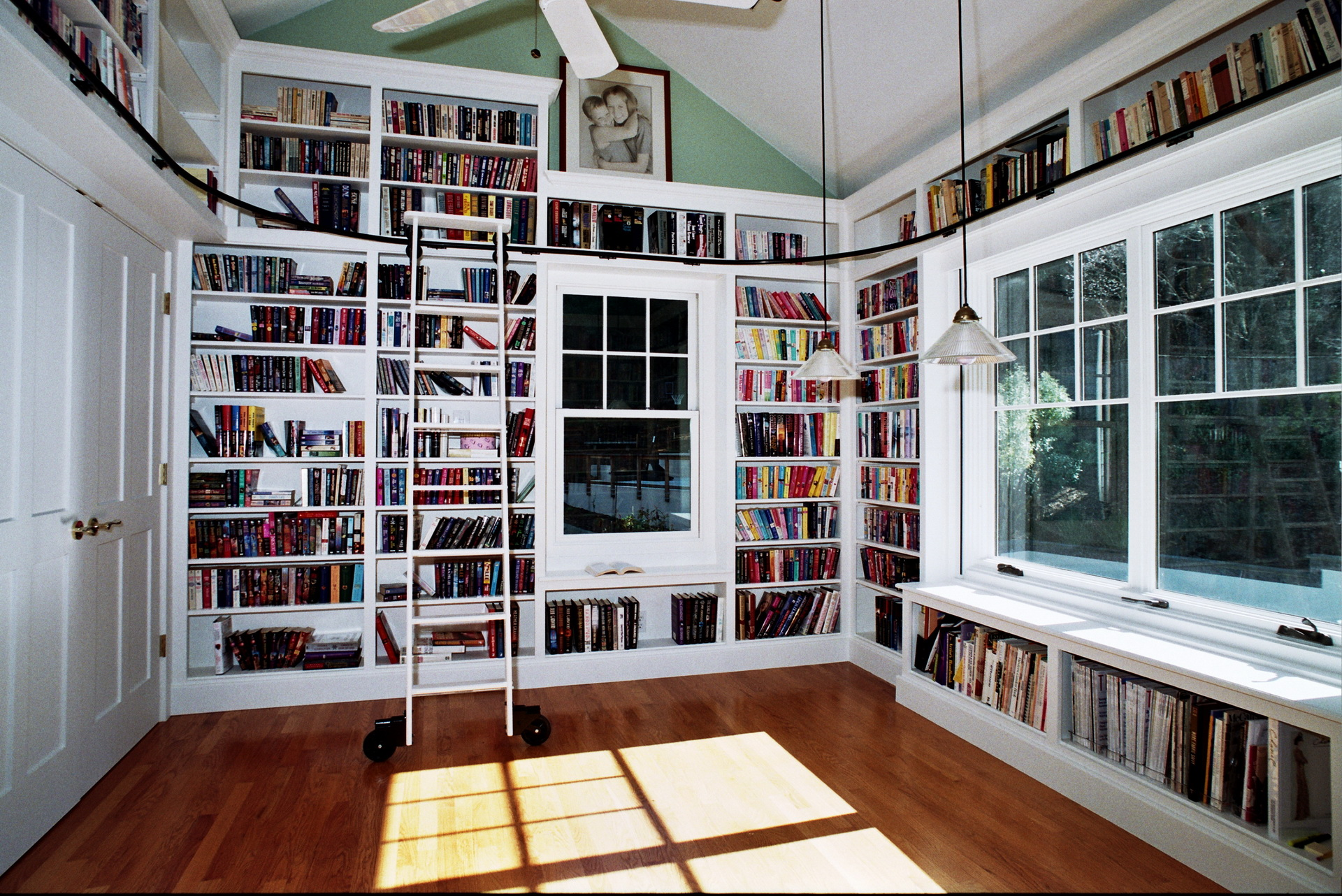 Home Office Built In Library