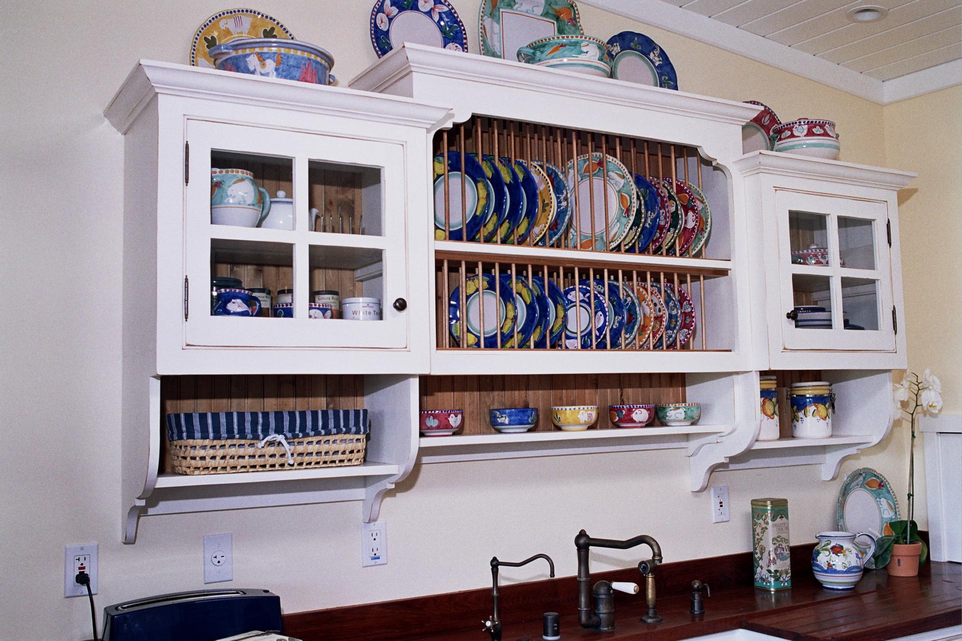 Plate Rack Cabinet