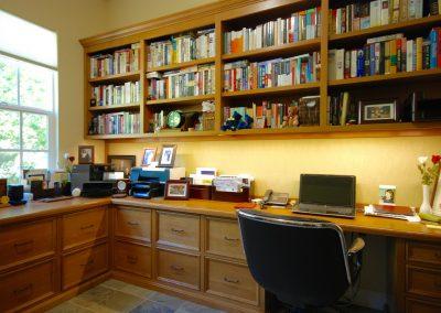 2016 Home office Custom design in white oak