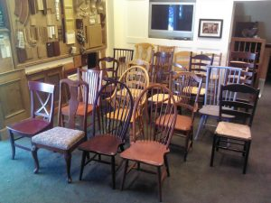 English Country Pine Chairs
