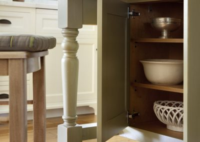 Kitchen table closet