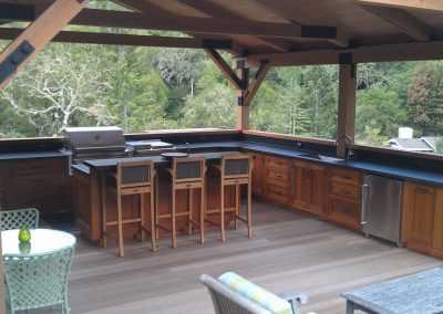 Outdoor cooking in this Kitchen is refreshing