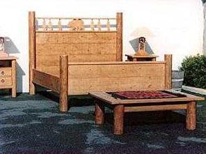 Rustic Wood Bedroom Furniture