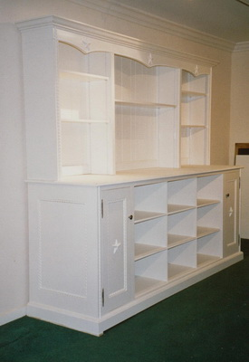 White Painted Furniture Cabinet