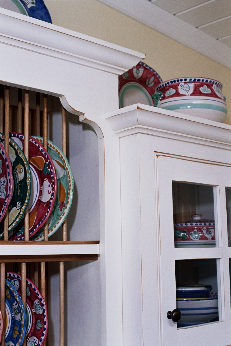 Plate Rack Cabinet
