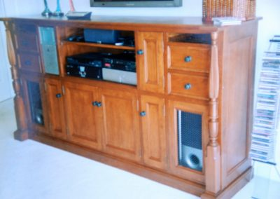 TV Audio Media Center Furniture